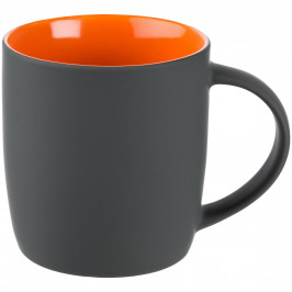 Кружка Surprise Touch c покрытием софт-тач, оранжевая