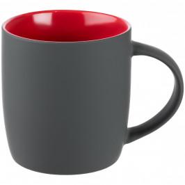Кружка Surprise Touch c покрытием софт-тач, красная