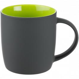 Кружка Surprise Touch c покрытием софт-тач, зеленое яблоко
