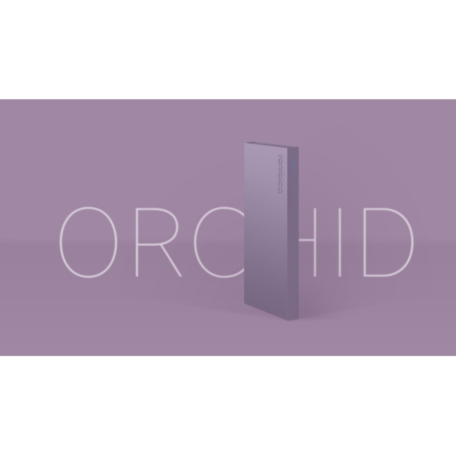 Внешний аккумулятор Rombica NEO ARIA Orchid, 10000мАч, Soft-touch, PD, QCharge, Type-C, сиреневый